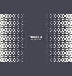 halftone triangular pattern abstract geometric vector image