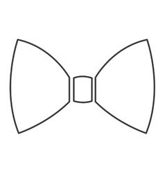 simple bowtie icon vector image vector image
