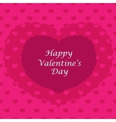 Valentine card seamless pattern vector image vector image