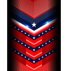america modern backgrounds template vector image vector image