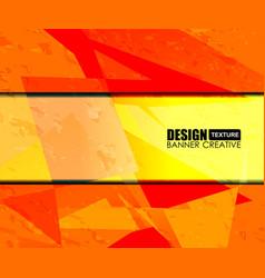 background orange texture design vector image vector image