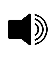 Volume bullhorn symbol vector image vector image