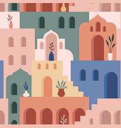 Abstract architecture minimalist geometric vector