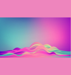 abstract colorful background color flow vector image
