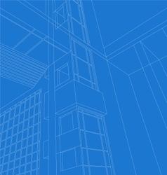 Architecture scene vector