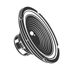 Audio loud speaker vector