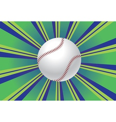 Baseball Ball Background vector image