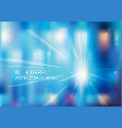 Blurred lights glittering background vector