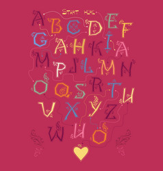 encrypted romantic message i am mad about you vector image