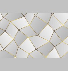 golden geometric abstract pattern vector image