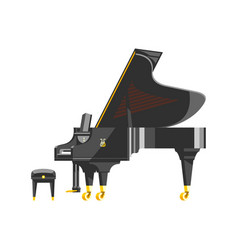 keyboard piano musical instrument classical vector image