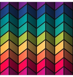 Rainbow colorful stained-glass rectangles abstract vector