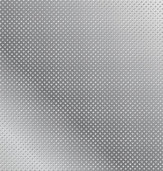Metal grid background vector image vector image