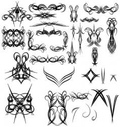 Pinstripes vector