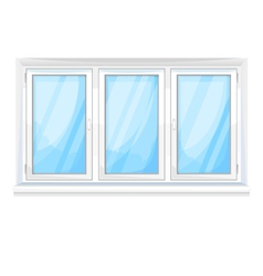 Big window vector image vector image