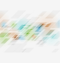 abstract technology multicolored geometry vector image