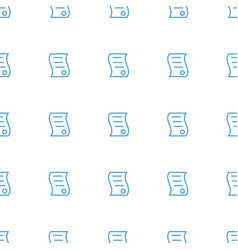 bill house sell icon pattern seamless white vector image