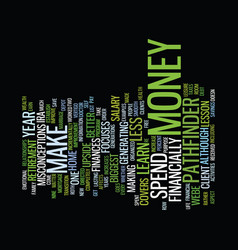 financial vertigo text background word cloud vector image