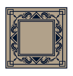 Frame elements and page decoration classical vector
