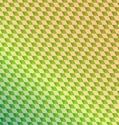 Retro green squared abstract background vector image