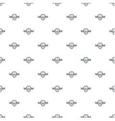 shield knight pattern seamless vector image