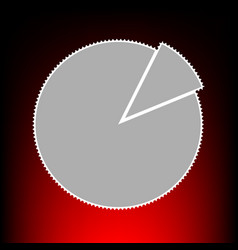 finance graph vector image