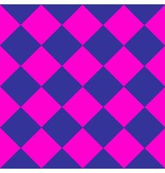 Cosmos Purple Blue Pink Chess Board Diamond vector image vector image