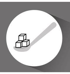 sugar product design vector image