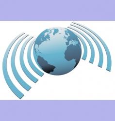 Internet symbols vector image vector image