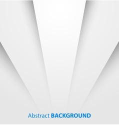 Abstract white paper background with shadow vector image