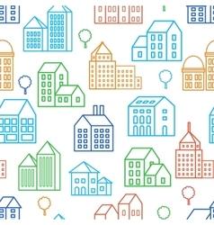 City Line seamless vector image