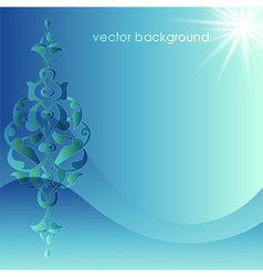 Decorative cover template sixty five vector
