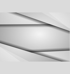 gray hexagon abstract background with copy space vector image