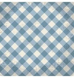 Grunge checkered background vector