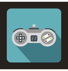 Joystick icon flat style vector