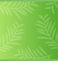 leaf pattern abstract background vector image