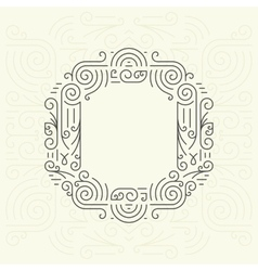 Letter O Golden Monogram Design element vector