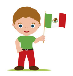 man from mexico vector image