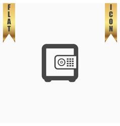 Safe money icon vector