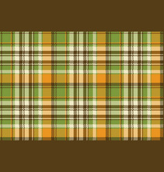 Yellow abstract check pixel plaid seamless pattern vector
