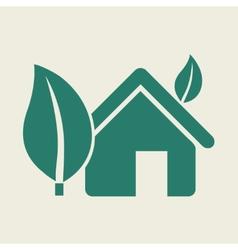 Eco Flat Icon vector image