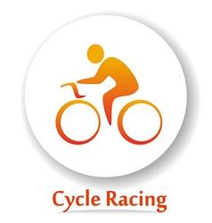 CycleRacingB vector image