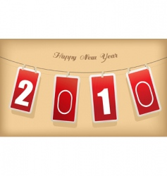 new year cards vector image vector image