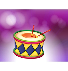 A percussion instrument vector image