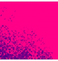 Abstract Background Bright Sparkle Red Pixel vector image