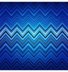 Abstract blue white and black zig-zag warped vector