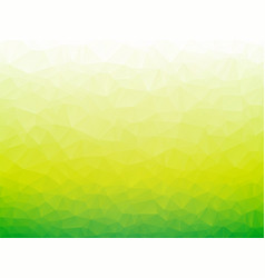 Abstract green bio low poly background vector