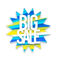 Boom big sale vector