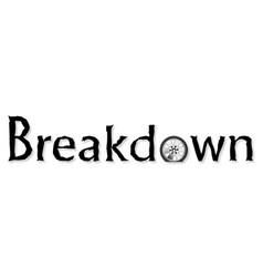Breakdown vector