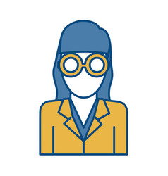 Businesswoman icon image vector